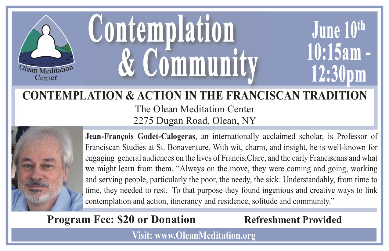 Contemplation & Action in the Franciscan Tradition