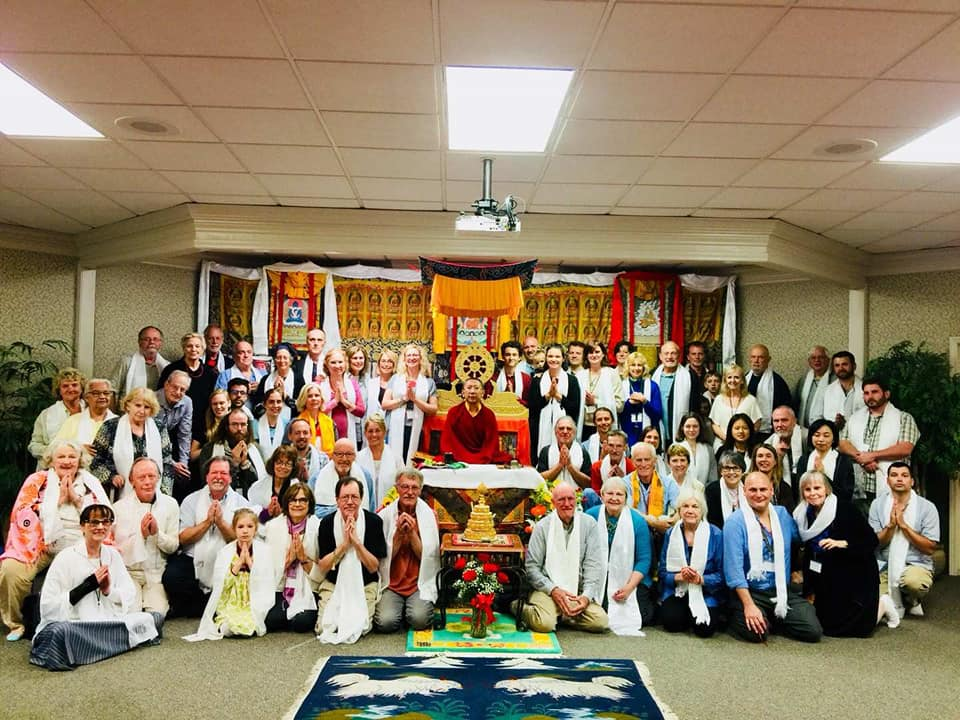 H.E. Shyalpa Tenzin Rinpoche gives a retreat at the Olean Meditation Center, June 2 & 3, 2018.